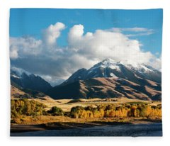 A Touch Of Paradise Fleece Blanket