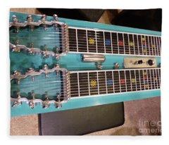 Emmons Lashley Legrande Pedal Steel Guitar Fleece Blanket