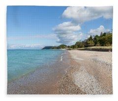 Empire Beach Fleece Blanket