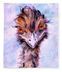 Emu Eyes Fleece Blanket