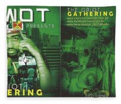 Emwot Cd/dvd Fleece Blanket
