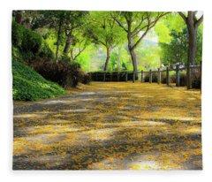 Enchanted Path Fleece Blanket