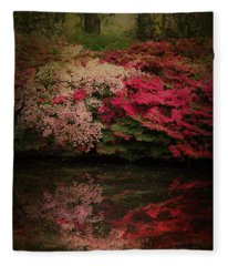 Enchanted Garden  Fleece Blanket