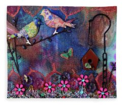 Enchanted Patchwork Fleece Blanket
