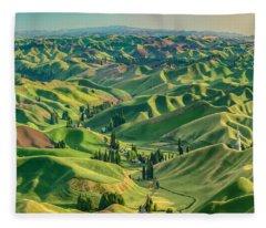 Enchanted Valley Award Winner Fleece Blanket