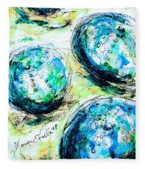 Enchanthing Sea Urchins Fleece Blanket