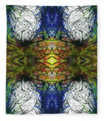 Enchantment Of The Collective Evolution #1505 Fleece Blanket