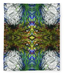 Enchantment Of The Collective Evolution #1507 Fleece Blanket