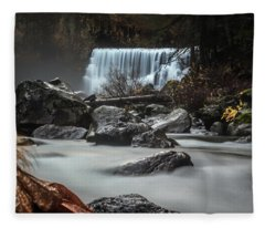 End Of Fall Fleece Blanket