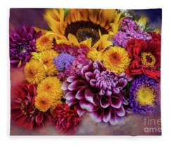 End Of Summer Fleece Blanket