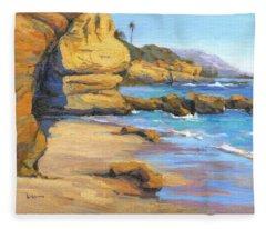 End Of Summer / Laguna Beach Fleece Blanket