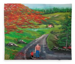 Endless Love Fleece Blanket