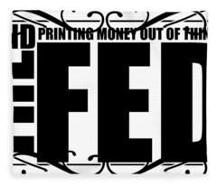 #endthefed Fleece Blanket