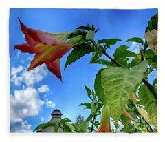 Engelstrompete Brugmansia Fleece Blanket