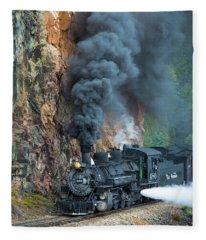 Engine 480 Fleece Blanket