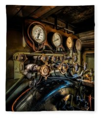 Engine Room Fleece Blanket
