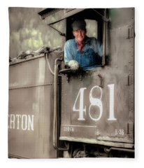 Engineer 481 Fleece Blanket