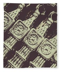 England Tourism Past Fleece Blanket