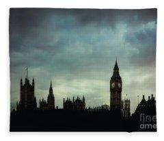 England's Glory Fleece Blanket