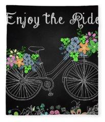 Enjoy The Ride-jp3929 Fleece Blanket