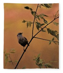 Enjoying The Breeze Fleece Blanket