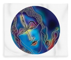 Enlightening Shiva Fleece Blanket