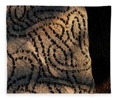 Entangled Fleece Blanket
