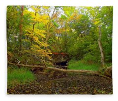Enter Autumn Fleece Blanket