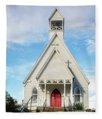 Episcopal Church Of The Messiah Fleece Blanket