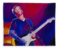Eric Clapton - Crossroads Fleece Blanket