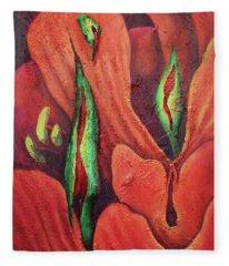 Erotocactus Fleece Blanket