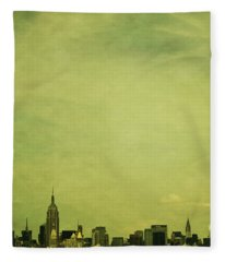 Escaping Urbania Fleece Blanket