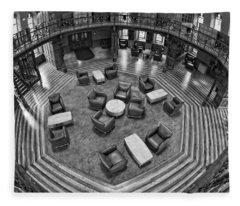 Escher's Study Fleece Blanket