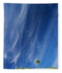 Essence Of One      Fleece Blanket
