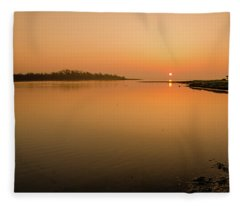 Estuary  Fleece Blanket
