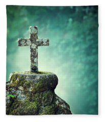 Eternal Spirit Fleece Blanket