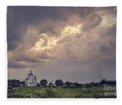 Eternal Storm Fleece Blanket