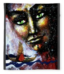 Eternal  Voyage Fleece Blanket