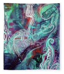 Eternal Woman Fleece Blanket