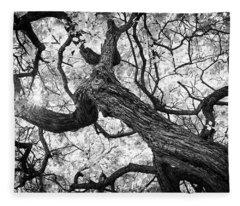 Ethereal Maple Fleece Blanket