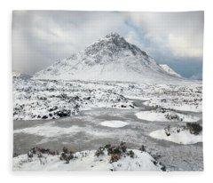 Etive Mor Winter Fleece Blanket