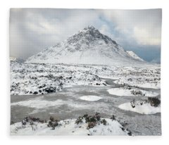 Etive Mor Winter Fleece Blanket