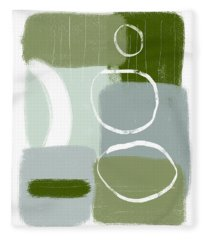 Eucalyptus Breeze  2- Art By Linda Woods Fleece Blanket