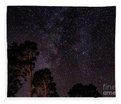 Eucalyptus Galaxy Fleece Blanket