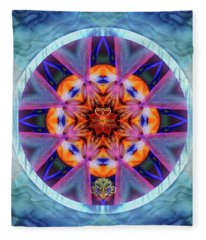 Eudaimonia-custom1 Fleece Blanket