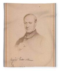 Eugene Joseph Verboeckhoven  By Hector De Saedeler Belgian, Active 1860s Fleece Blanket