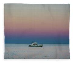 Evening Charter Fleece Blanket