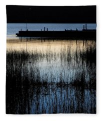 Evening Glow Fleece Blanket
