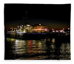 Evening Reflections Fleece Blanket
