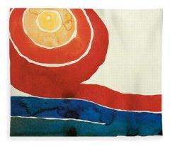 Evening Star IIi Fleece Blanket